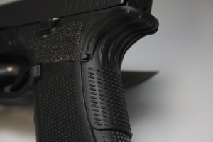 The Grip Force Adapter requires no permanent modification of the firearm.
