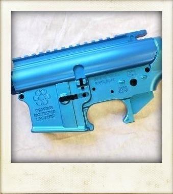 Turquoise AR-15