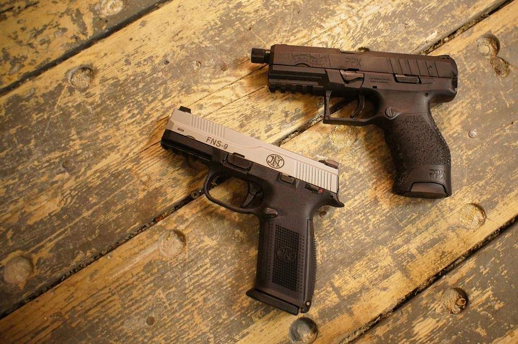 Walther PPX & FNH FNS-9