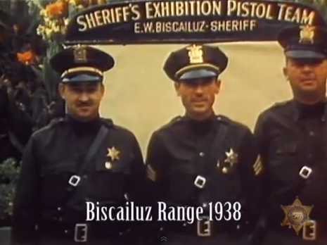 sheriff's exhibition shooting team