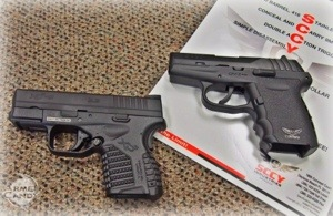 XDs 9mm compared to SCCY CPX-2, concealed carry options