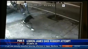 Atlanta shoe store robbery shooting