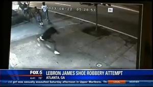 Atlanta shoe store robbery shooting