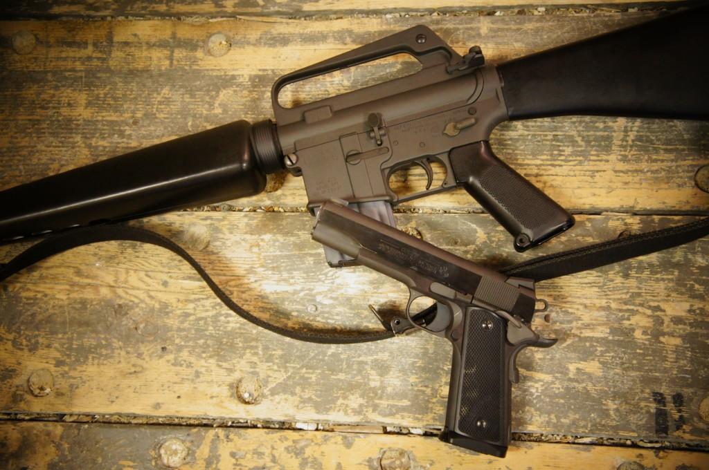 Colt SP1 & Colt 1911