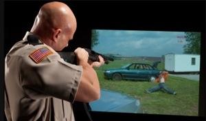 Meggitt's FATS in use for officer training, from the Meggitt website