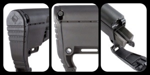 Mission First Tactical BattleLink Utility Low Profile Stock great product in a lightweight package