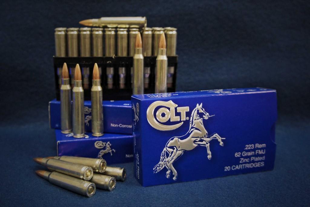 colt brand steel cased ammo