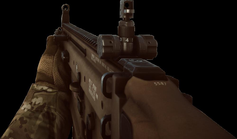 battlefield 4 scar-h