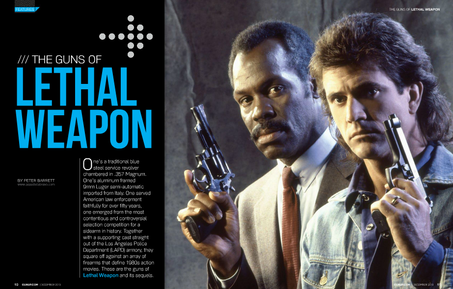 guns of lethal weapon