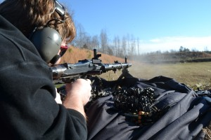 Getting some trigger time on the spectacular MG-34