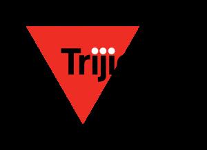 TRJ1001-1 Red Triangle Black Letters No Tagline