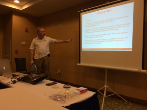 Andrew Branca wraps up an informative session on Virginia's laws on self defense.
