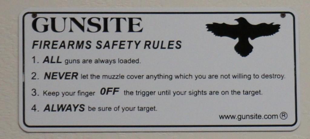gunsite four rules