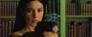 Monica Belluci COP derringer