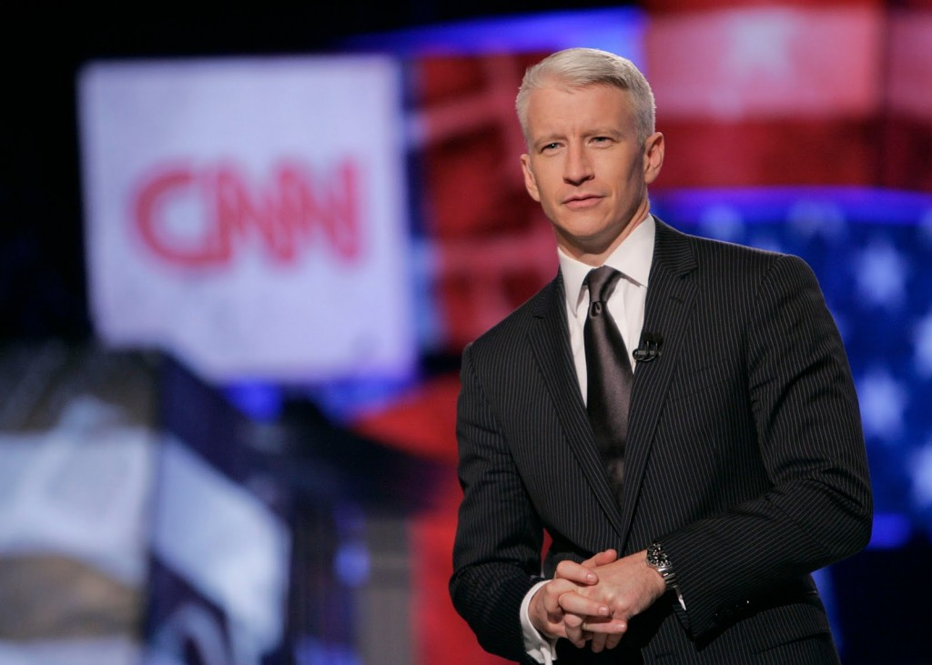 For the record, I actually like Anderson Cooper. But he's pretty mainstream.