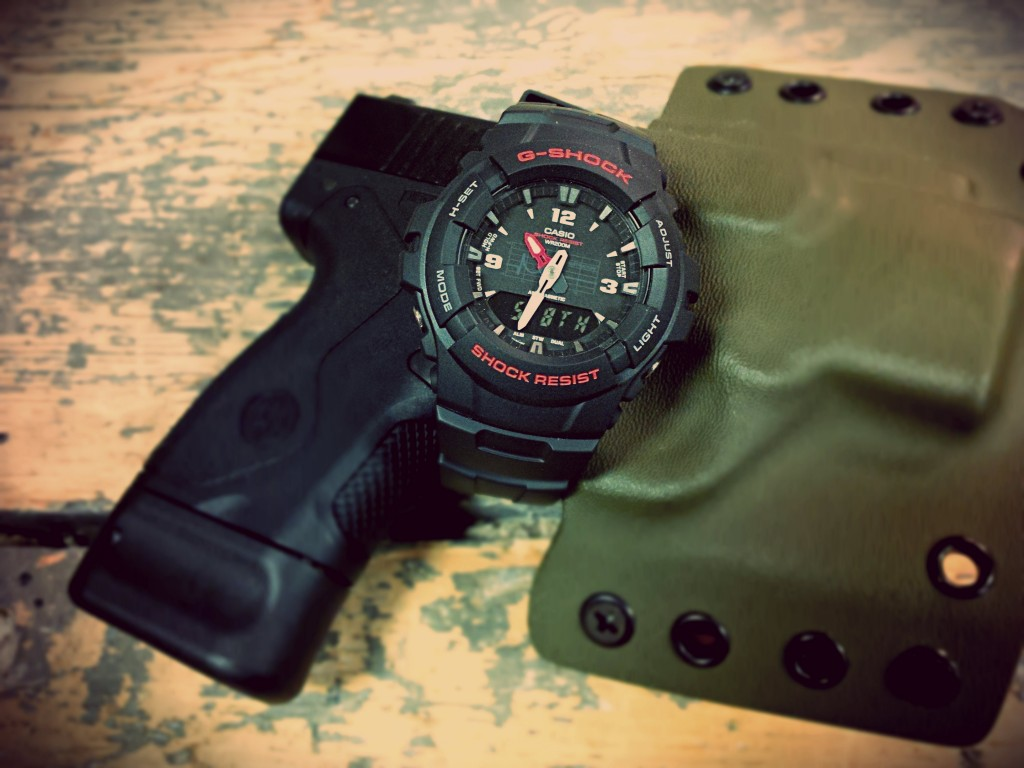 Beretta Nano and G-Shock