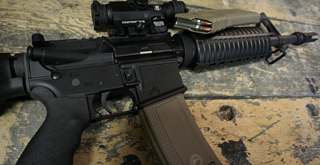 DPMS N-SBR pistol 001
