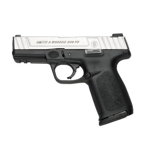 The budget semi-auto in S&W's lineup seems like the best bet in its pricerange...
