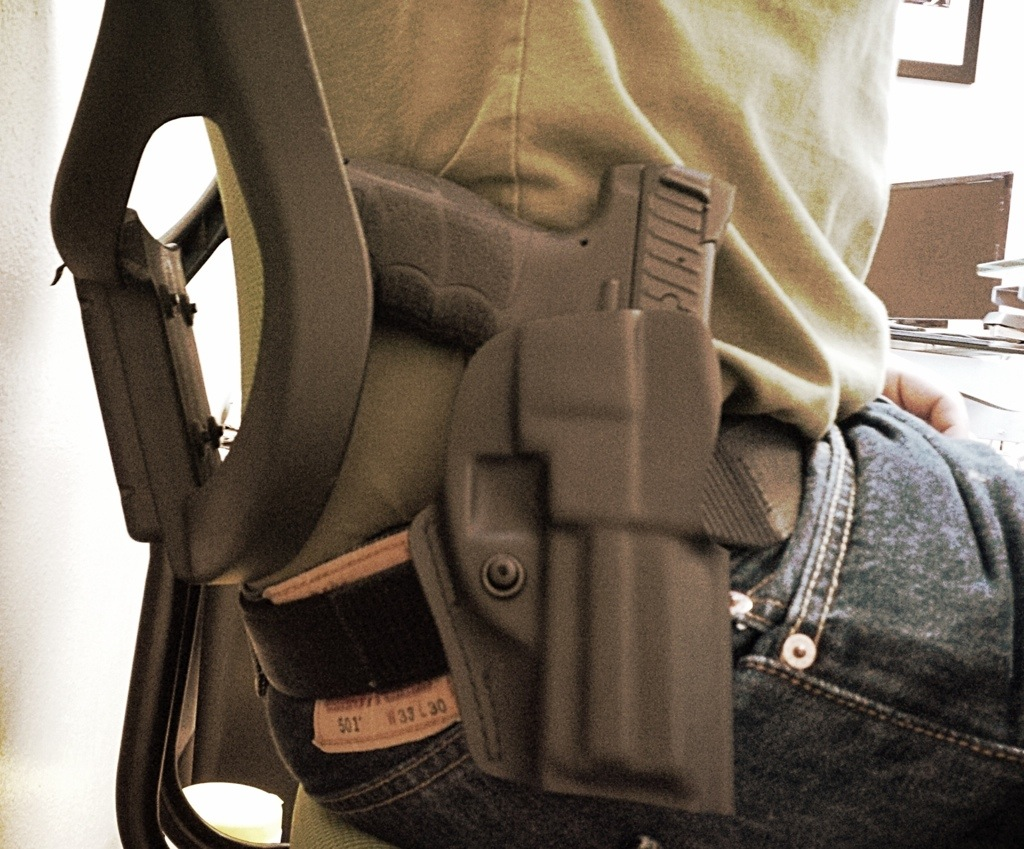 The Open Carry Experience, Part 5: Comfort and concealment
