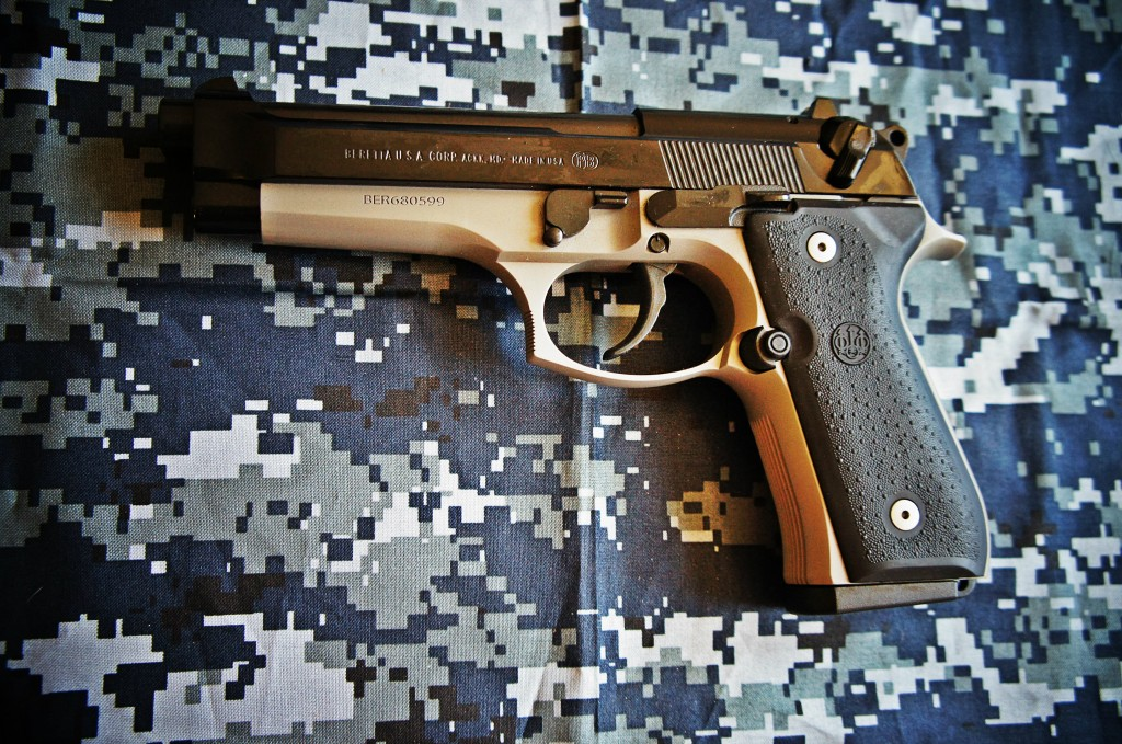 Beretta 92FS two-tone