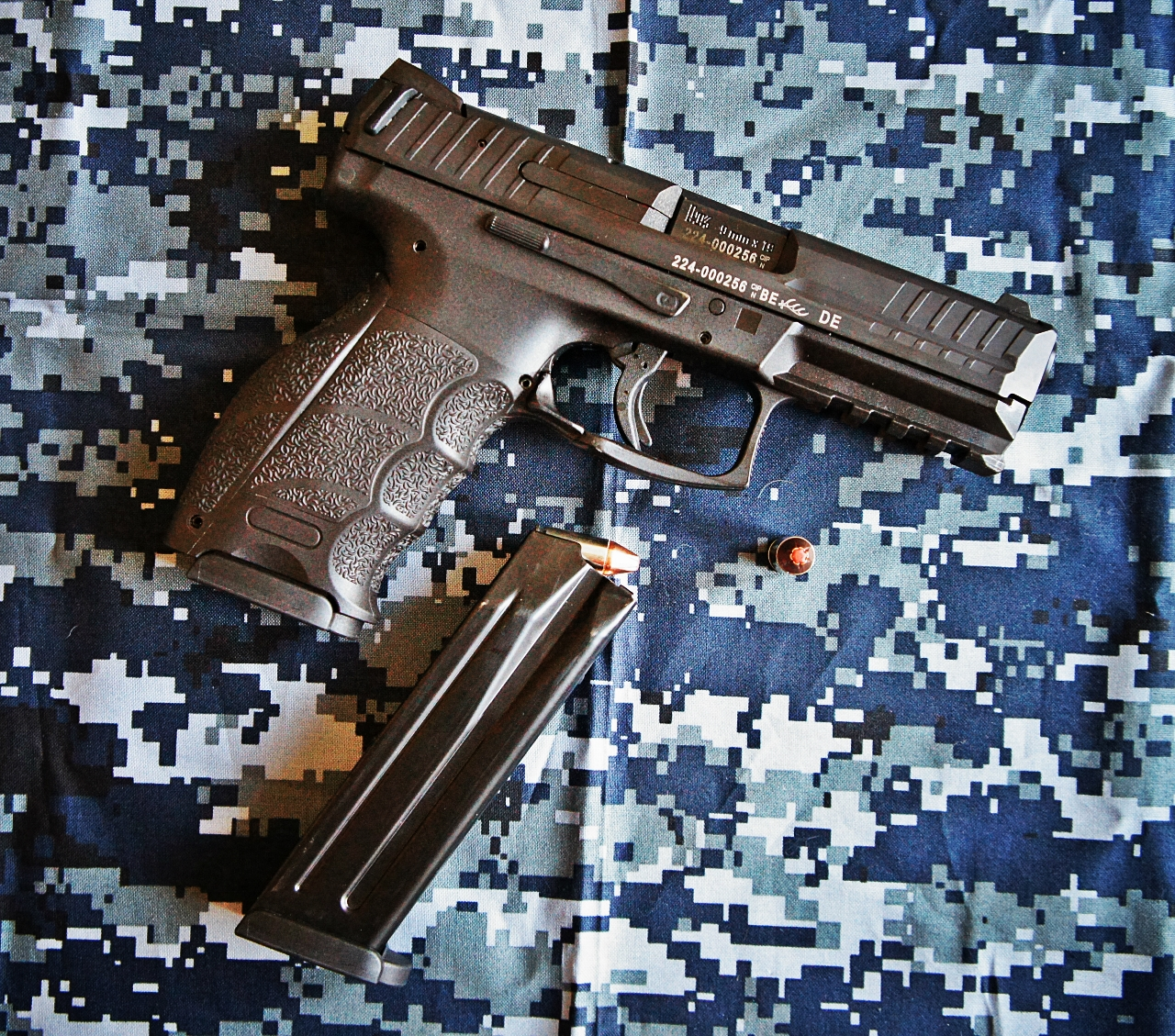 HK VP9 with Hornady Critical Defense