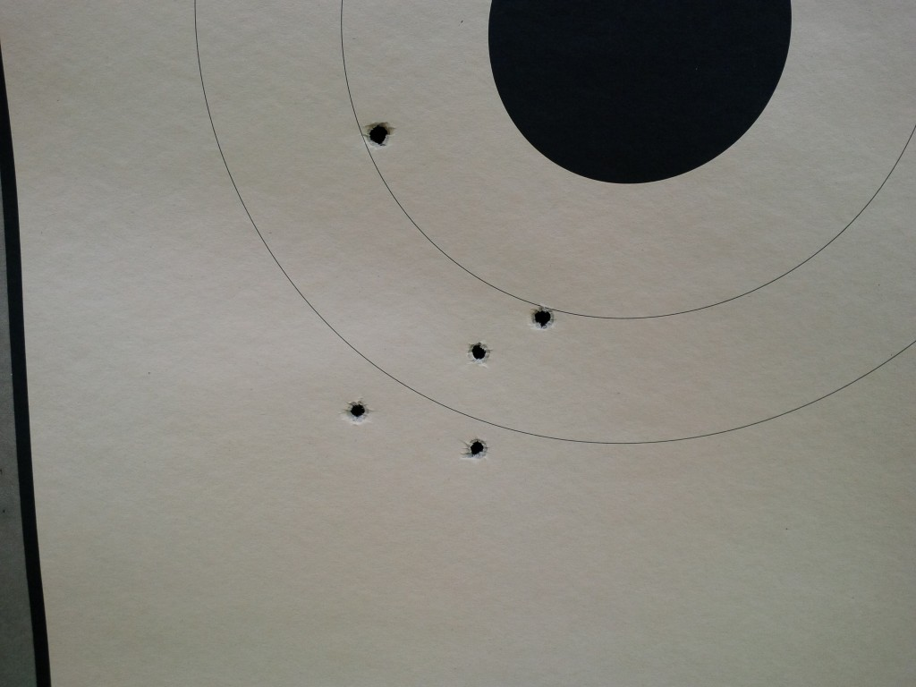 M&P Fullsize 25 yard group