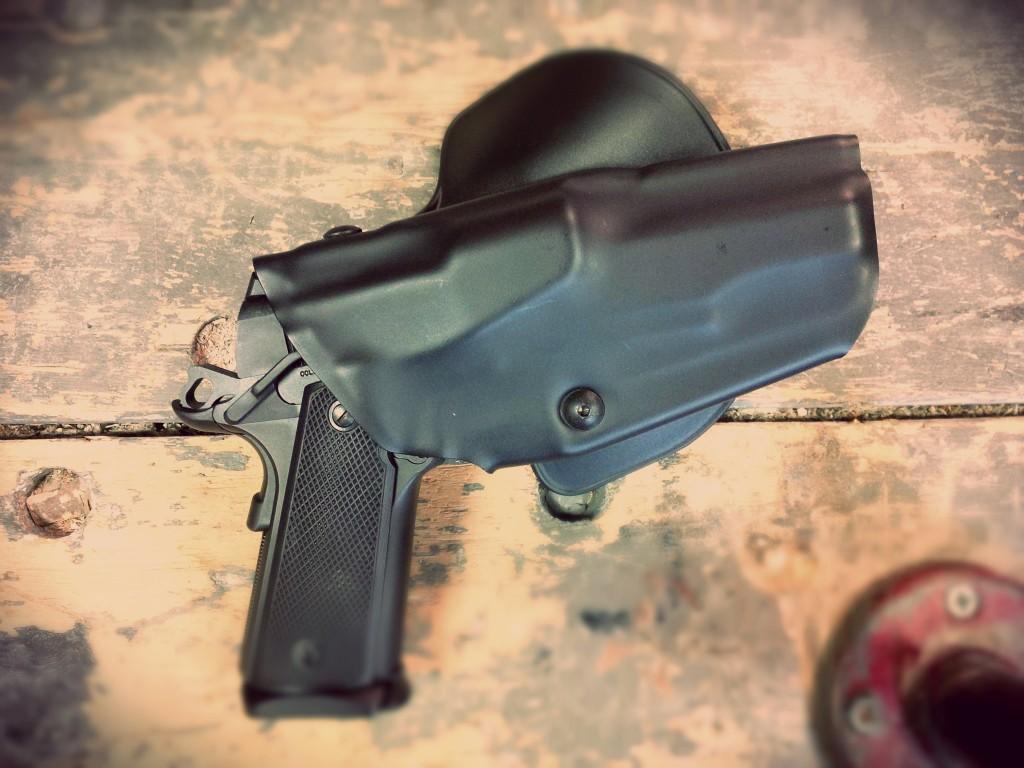 Safariland ALS with Colt 1911-1