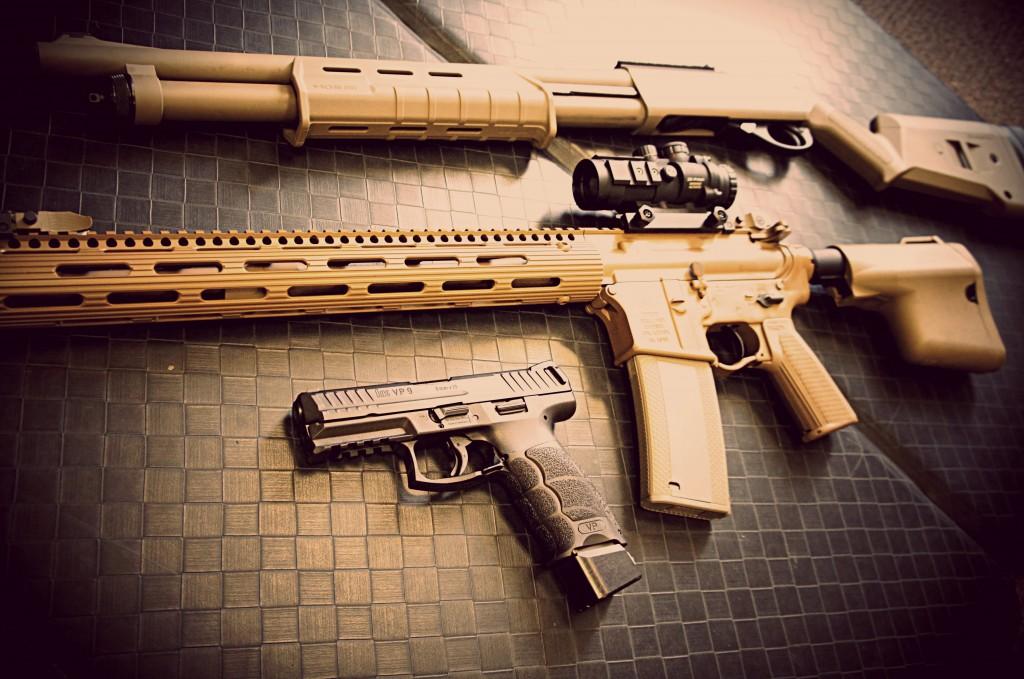 Tactical 3-gun