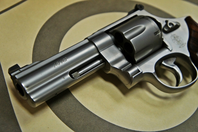 And old friend come home: the Smith & Wesson 625