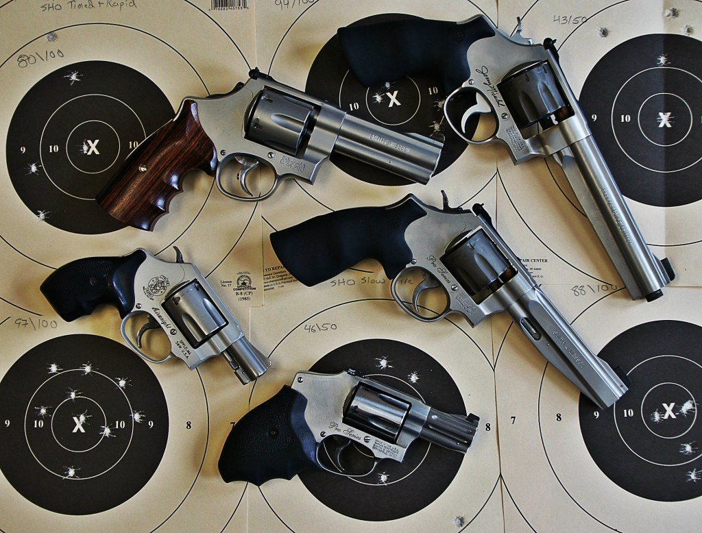 smith - wesson revolvers