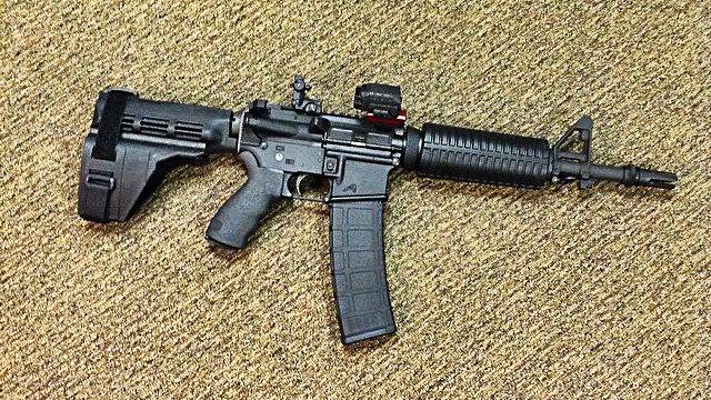 SB15 Pistol build update