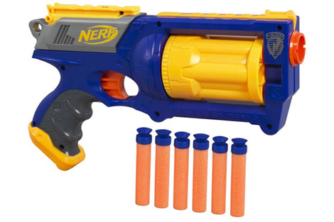 Even at the tender age of 8 I knew that toy guns were TOYS and couldn't  kill anyone, but I knew that a real gun was 100% not to be screwed around  with.