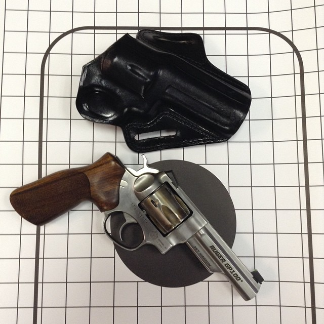 ruger gp100 with galco