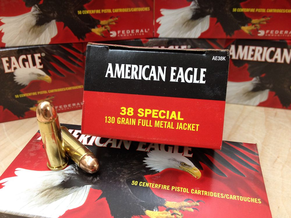 Ammo review: Federal American Eagle .38 Special 130 grain FMJ