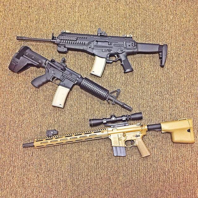 arx100 arpistol and lamb rifle