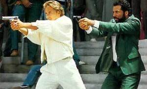 Tubbs' signature sidearm in Miami Vice was the original S&W Bodyguard