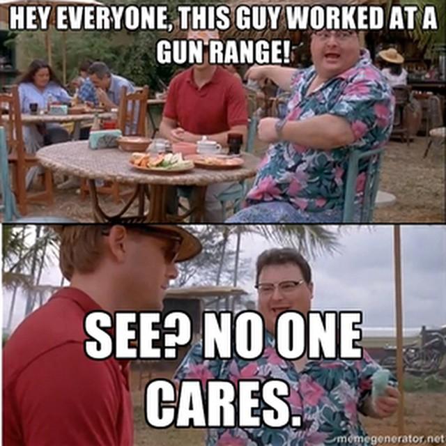 i work at a gun range