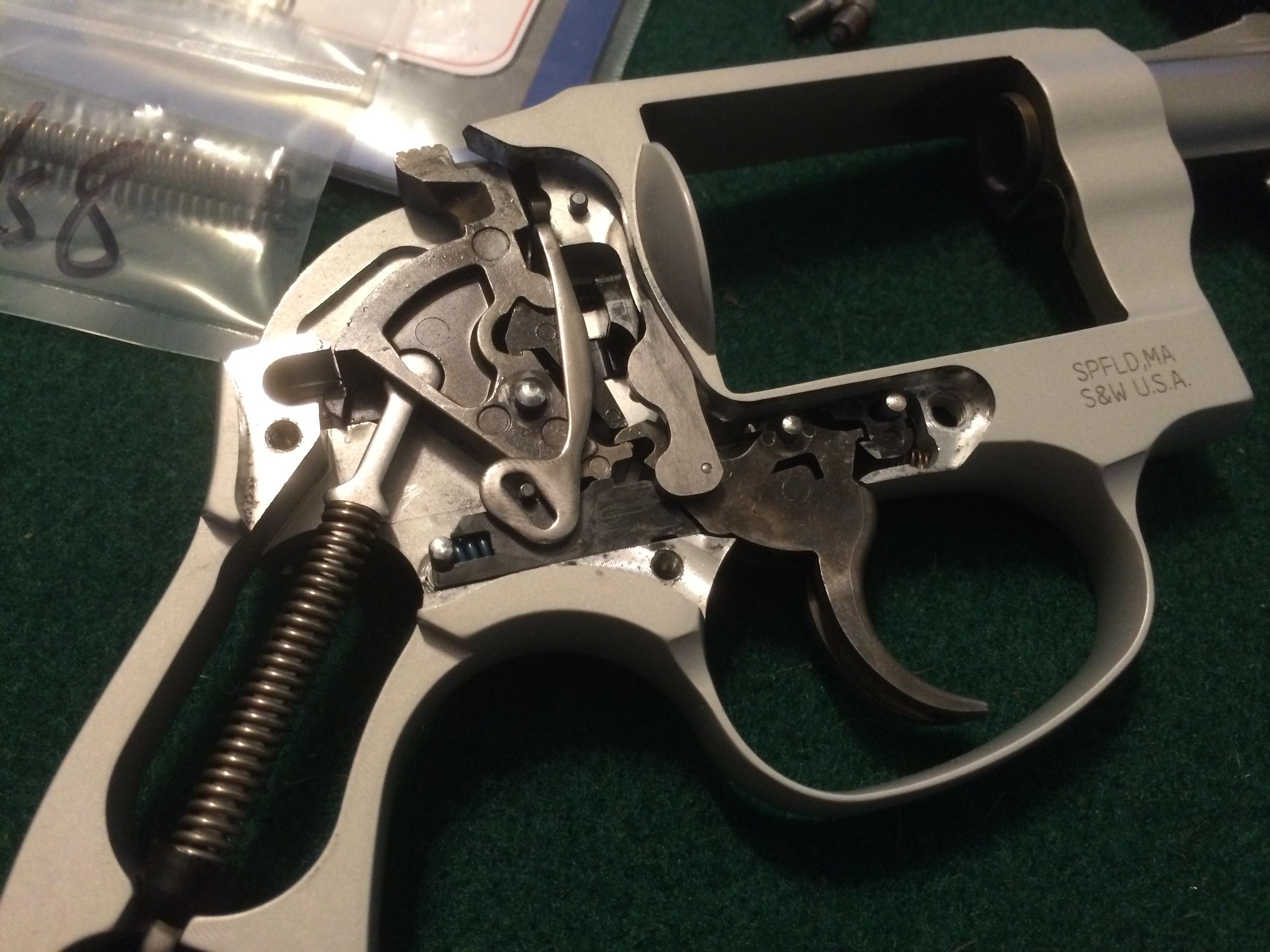 Improving the J frame – Wilson Combat Custom Tune Spring Kit – Gun ...