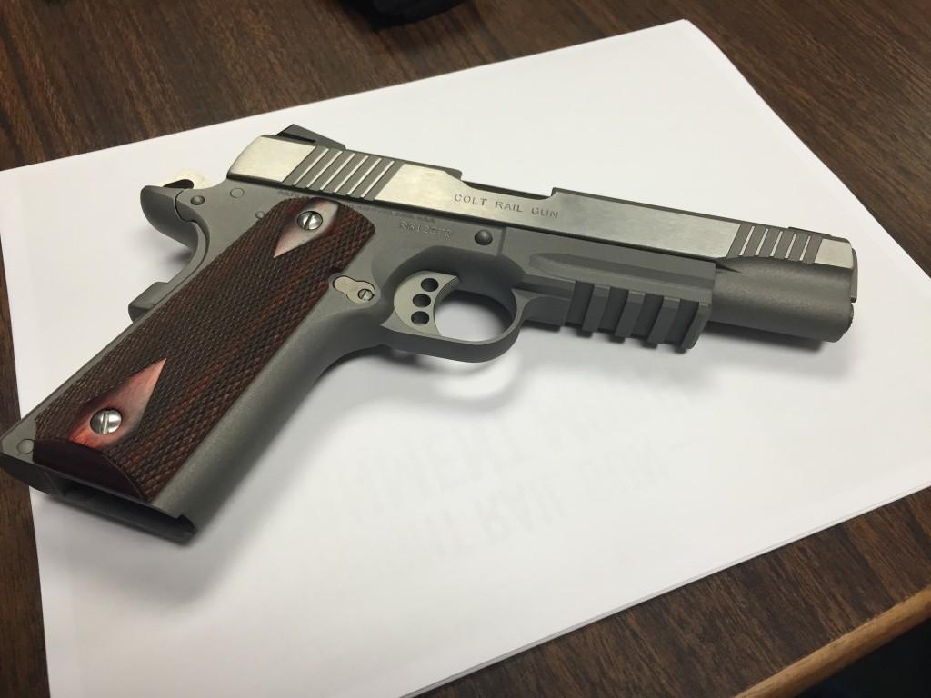 Colt Lightweight Rail Gun .45 ACP