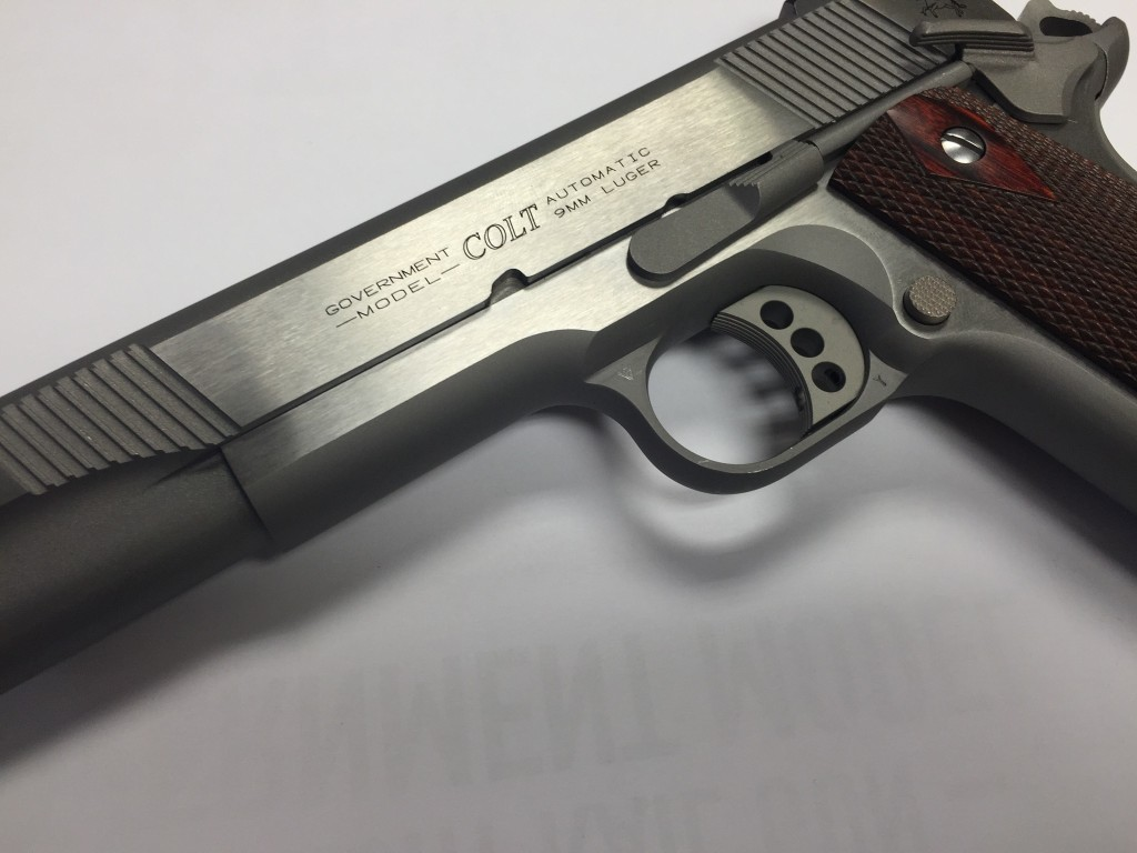 Colt XSE Government 9mm slide