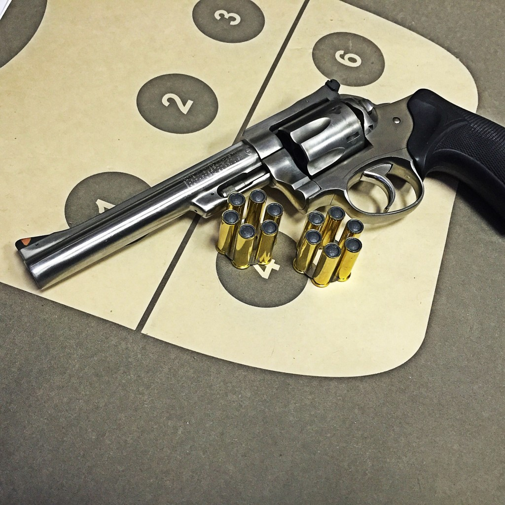 Ruger Security Six Clark Custom