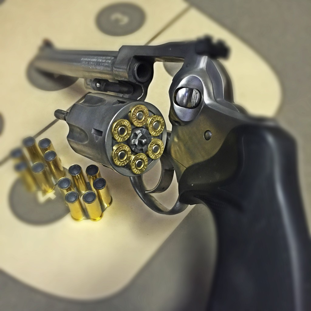 Ruger Security Six cylinder open