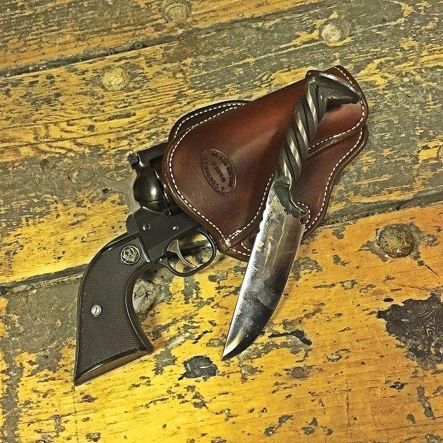 Ruger Blackhawk western star holster