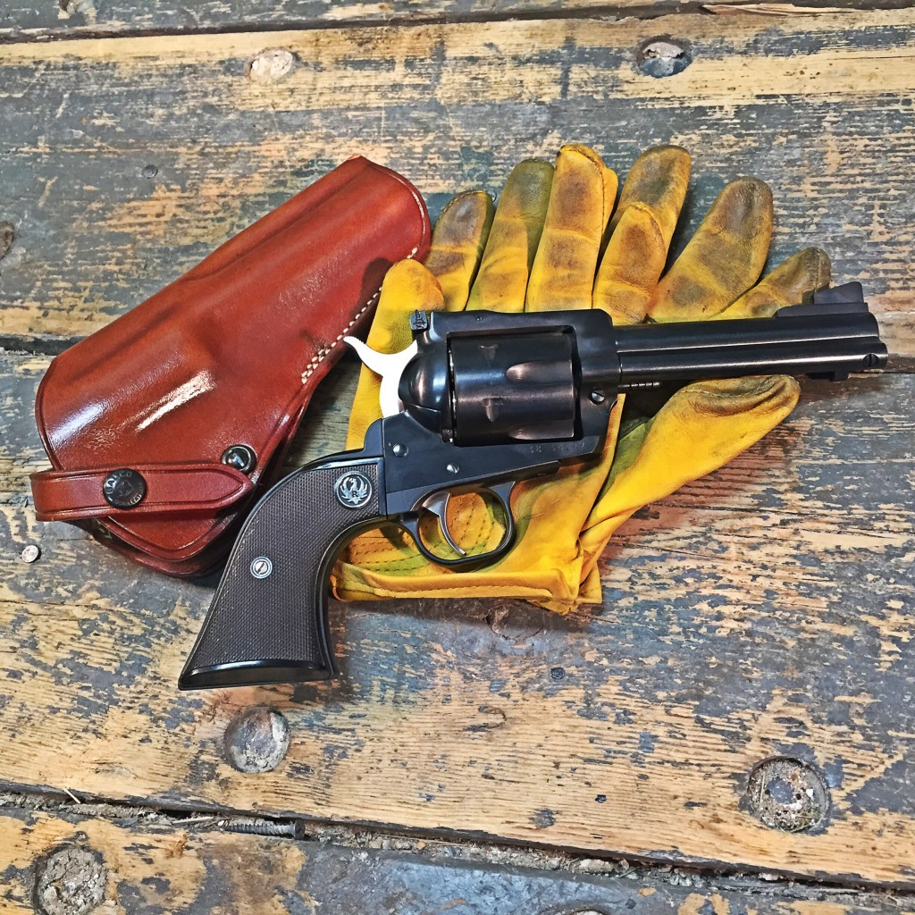 Ruger Blackhawk .45 Colt with Galco Holster