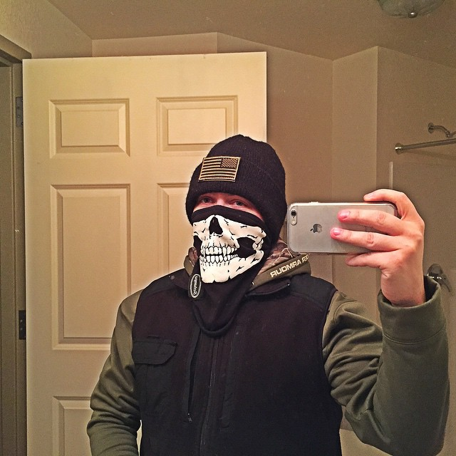 up to no good skull mask
