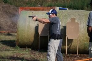 Caleb Area 3 with Colt 1911