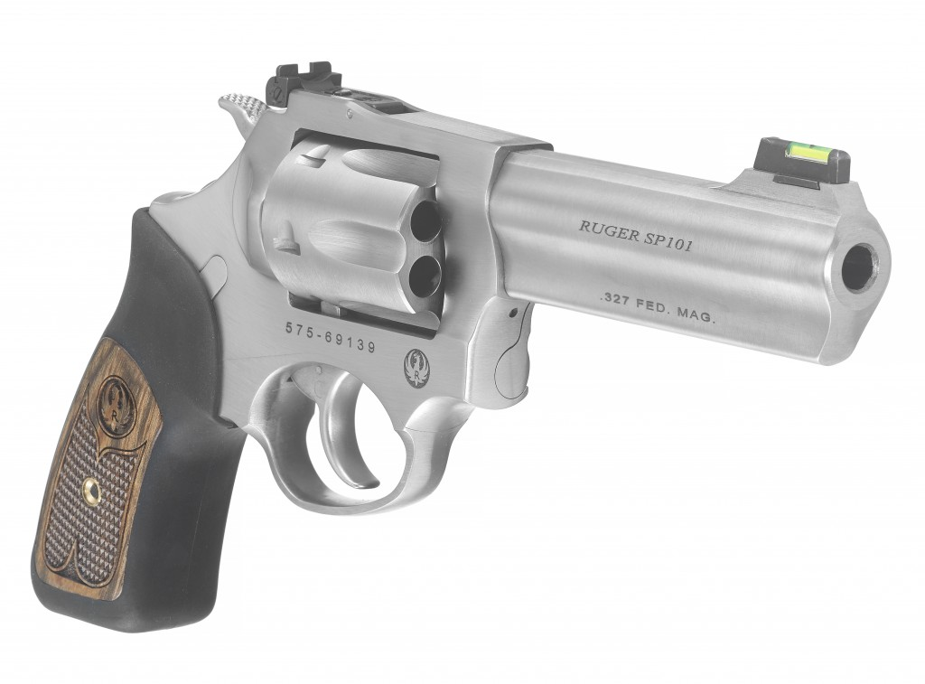 Ruger SP101 327 Federal 4 inch