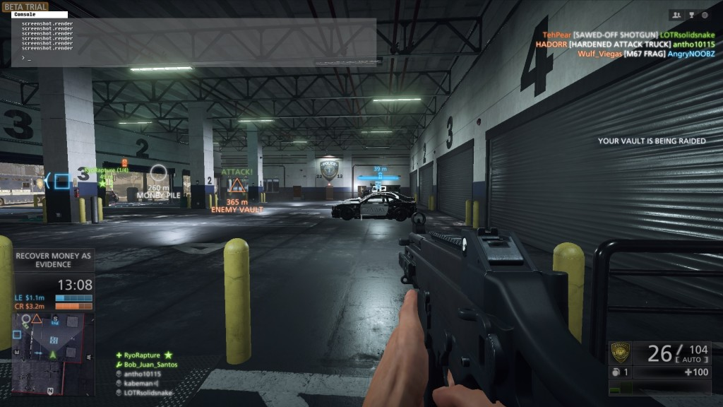 The UMP45 in action