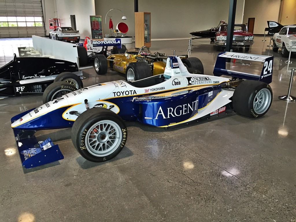 Danica Patrick's IndyLights car