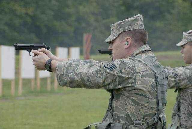 Thoughts on USAF handgun training